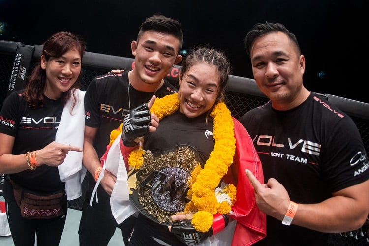 Female MMA Fighter Support