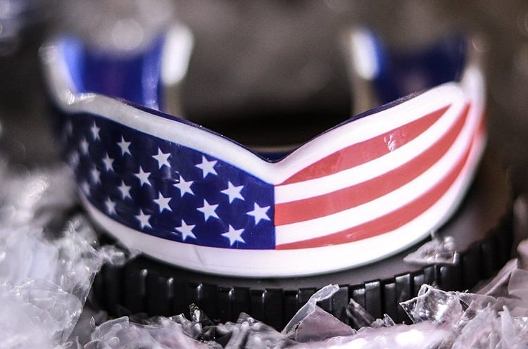 American Flag Mouth Guard