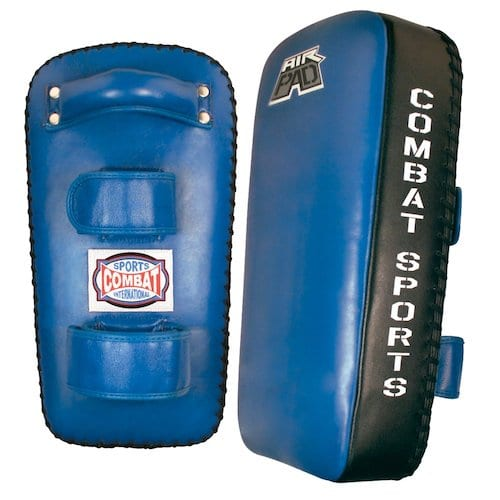 Combat Sports Leather Muay Thai Pads