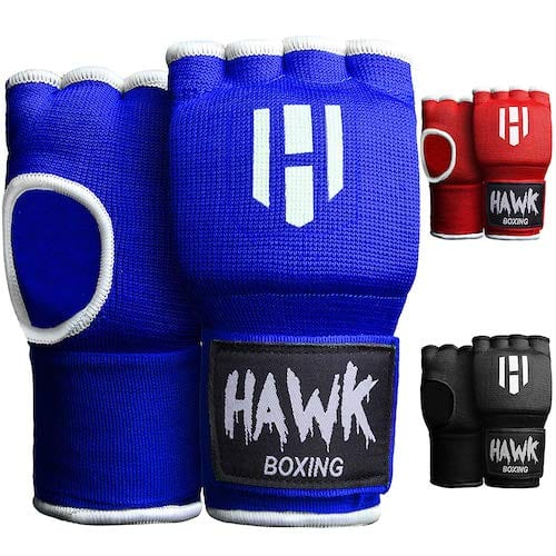 Hawk Padded Gel Inner Boxing Wraps