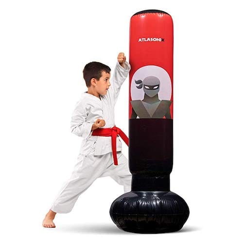 Atlasonix Inflatable Kids Punching Bag
