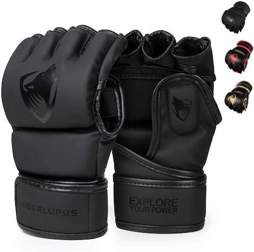 Liberlupus MMA Gloves For Men and Women