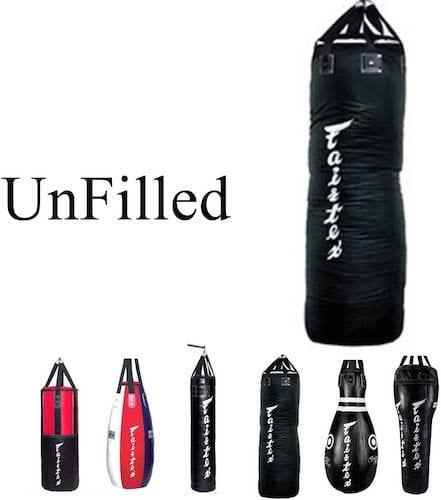 Fairtex Unfilled Heavy Bags