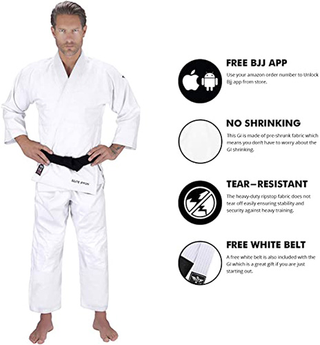 Elite Sports Adult Judo GI