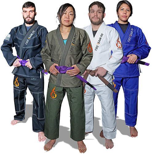 Fire Team Fit BJJ Gi