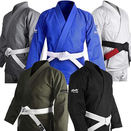 HAWK Brazilian Jiu-Jitsu Gi BJJ Gi For Men & Women Grappling Gi Uniform