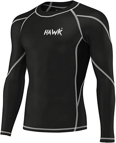 Hawk Sports Mens BJJ Rash Guard