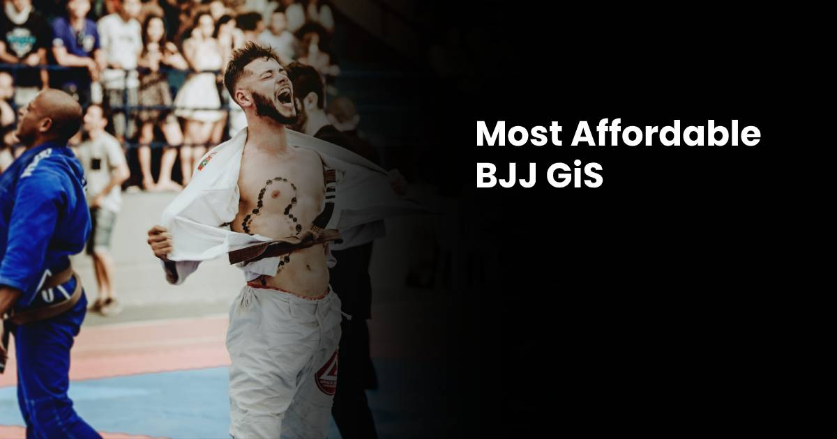 Best Cheap BJJ Gi