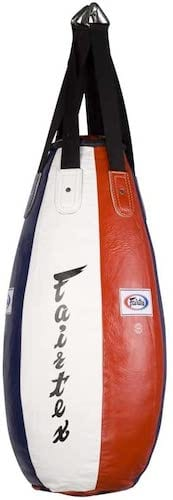 Fairtex Teardrop Leather Punch Bag