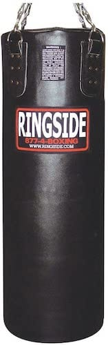 Ringside 65lb Leather Bag (filled)