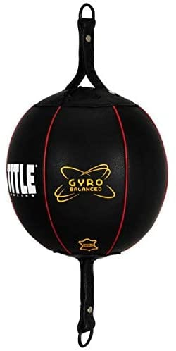 Title Boxing Gyro-balanced Leather Double-end Bag