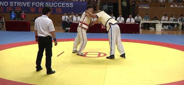 Shuai Jiao Match
